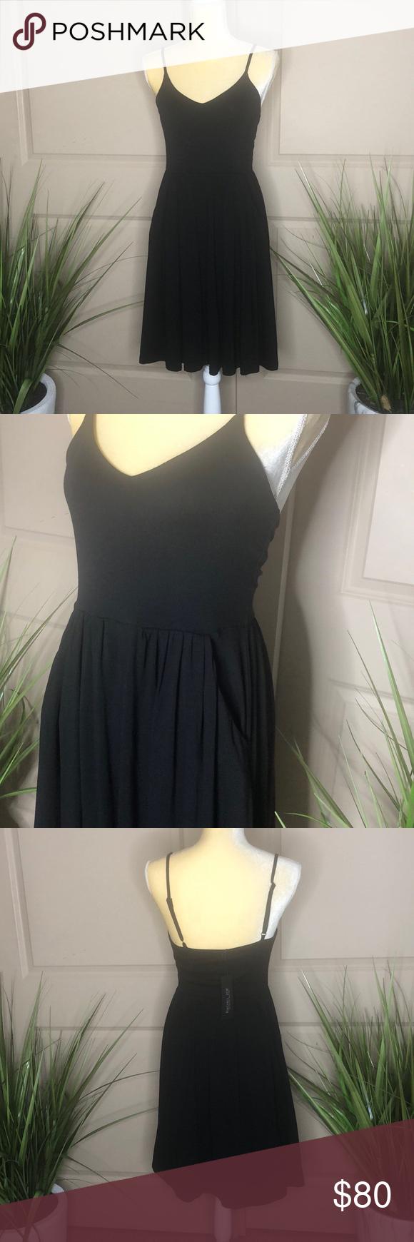 Rachel Zoe Black Dress Short Black Dress With Pockets 96 Rayon 4 Spandex Rachel Zoe Dresses Midi Black Dress Black Short Dress Dresses [ 1740 x 580 Pixel ]