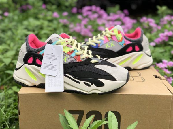 557c8fa6177 2018 adidas Yeezy Boost 700 Wave Runners Grey Black Yellow Pink For Sale-4
