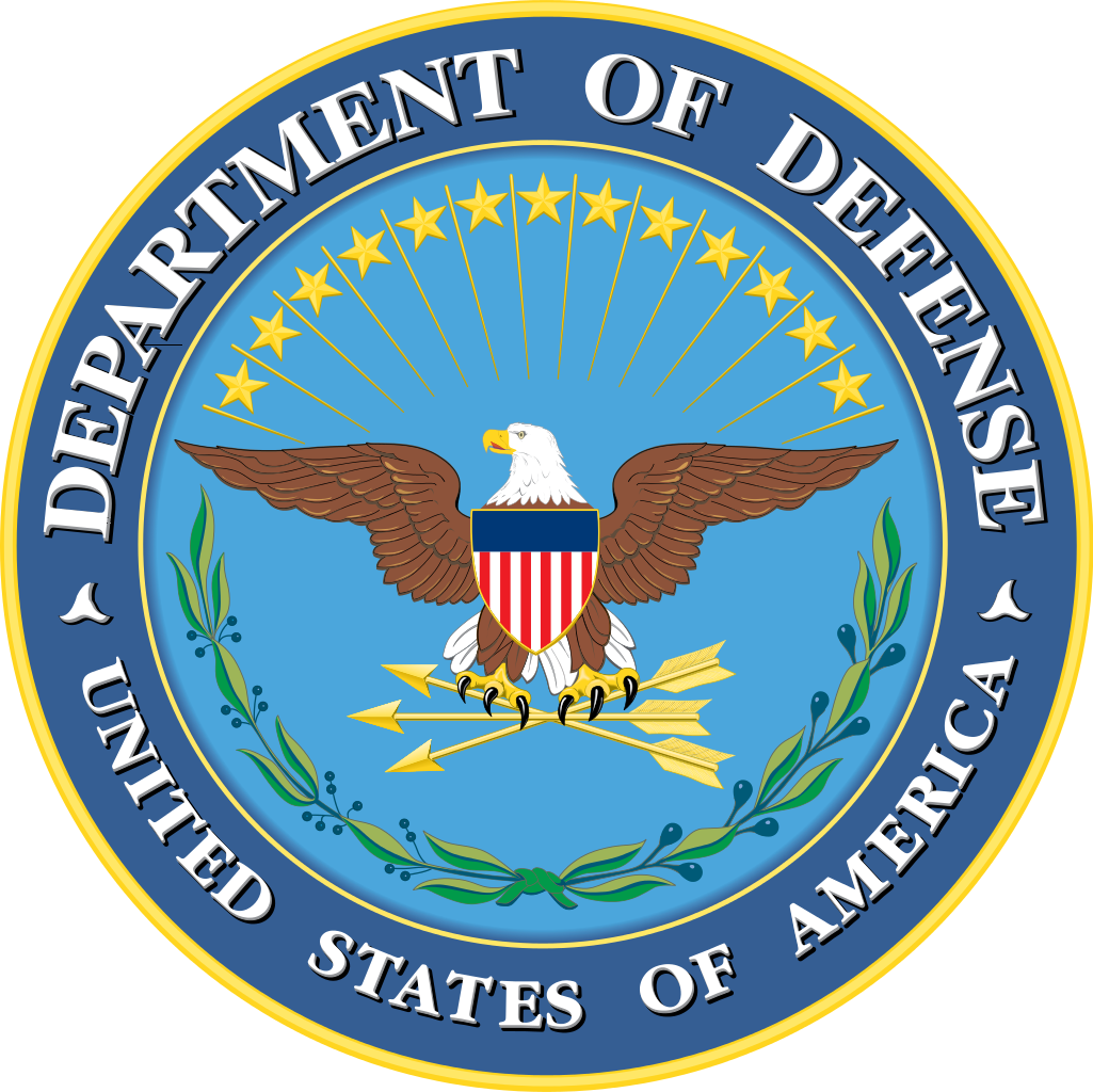 Department of Defense Logo Us military bases, Armed