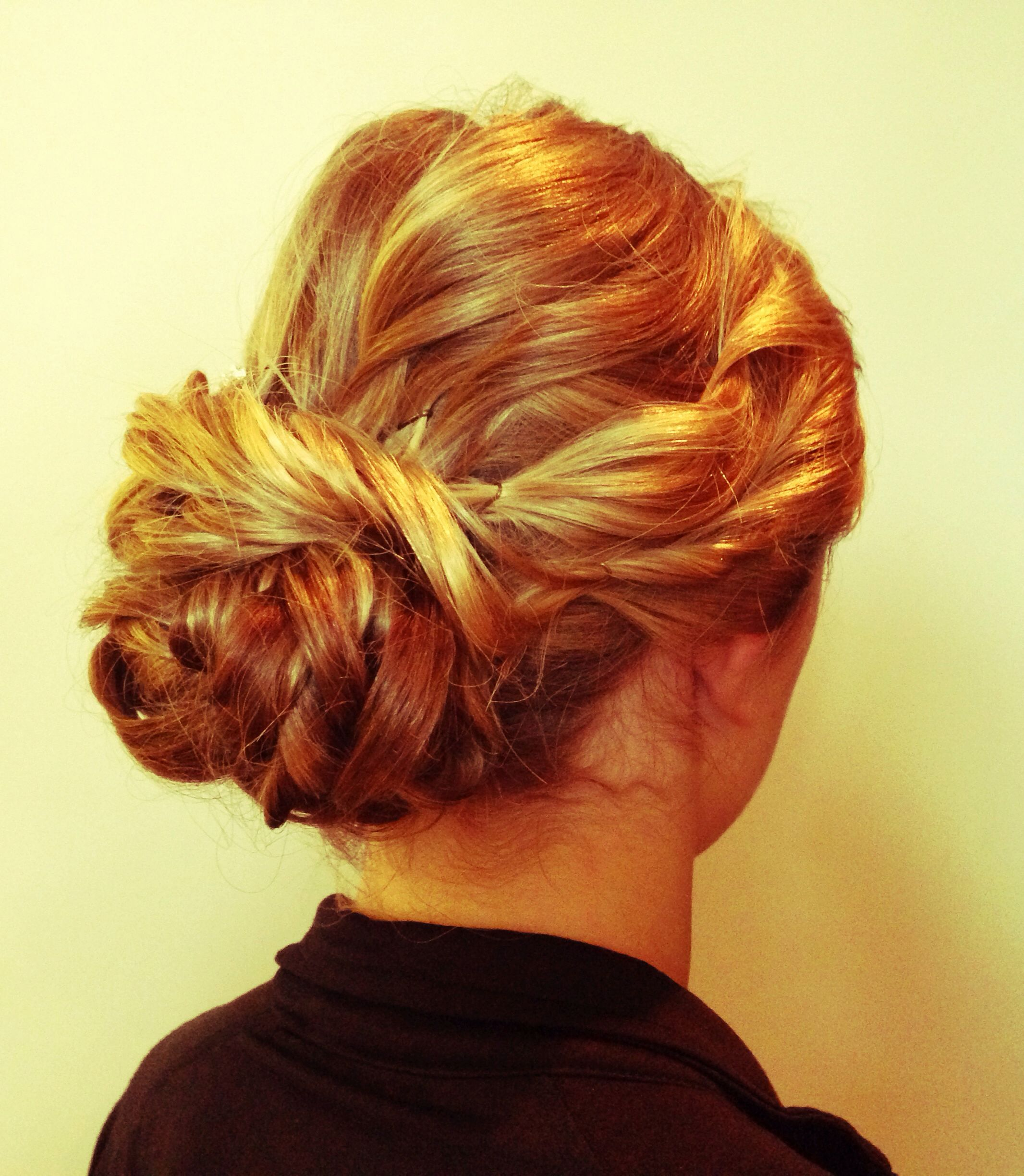 Soft simple formal hair done by myself all about the hair