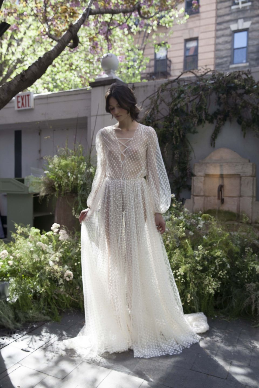 Bohemian wedding gowns delphine manivet bridal fashions