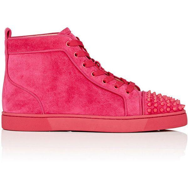 Spikes Flat Christian Sneakers Louboutin Men's Orlato Suede Lou EW2DeHIY9