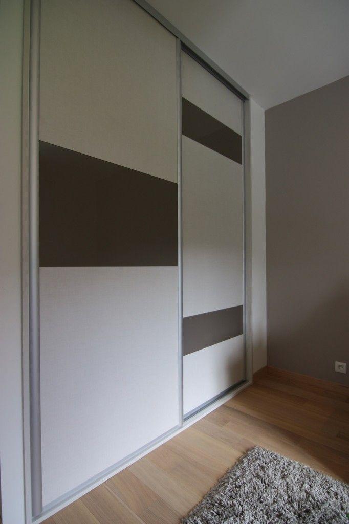 4-2850-euros-placard-sur-mesure-annecy portes placard Pinterest - roulette de porte de placard