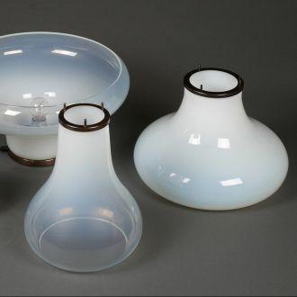 Lotus lamp by Carlo Nason