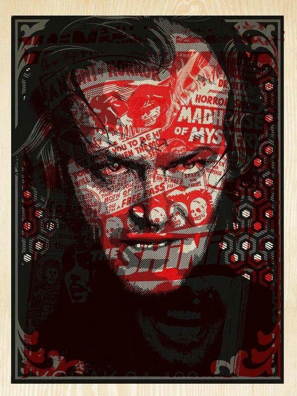 The Shining fan art poster | Illustrazioni, Dipinti e Film