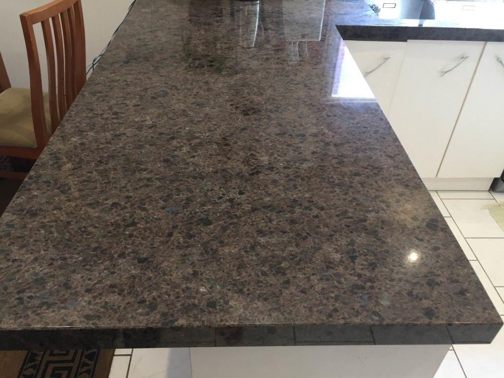 Labrador Antique Granite Benchtop Installation Granite