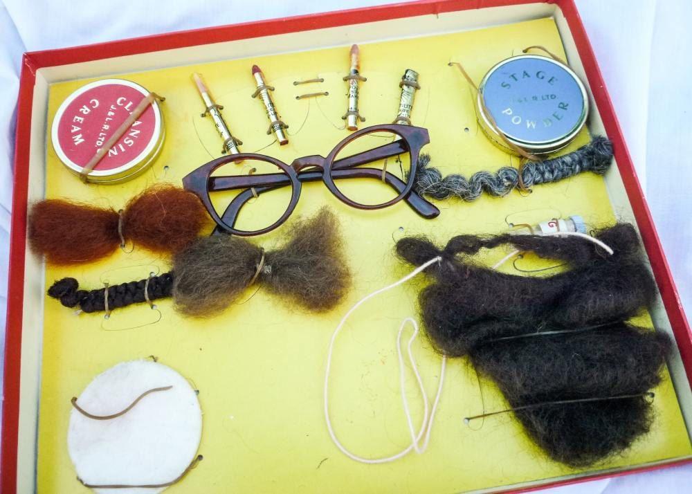 Vintage Children's Disguise Set. £10.00, via Etsy.