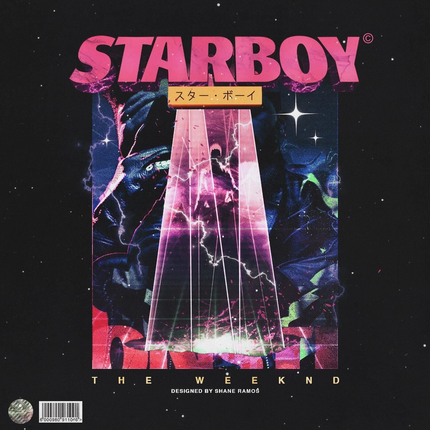 The Weeknd Starboy FanArt by Shane Ramos Cover art