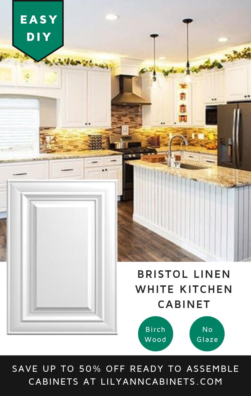 Modern Elegant Linen White Kitchen Cabinets The Quality Starts With The Cabinet Kitchen Cabinets Diy Kitchen Cabinets Makeover White Kitchen Cabinets 10x10