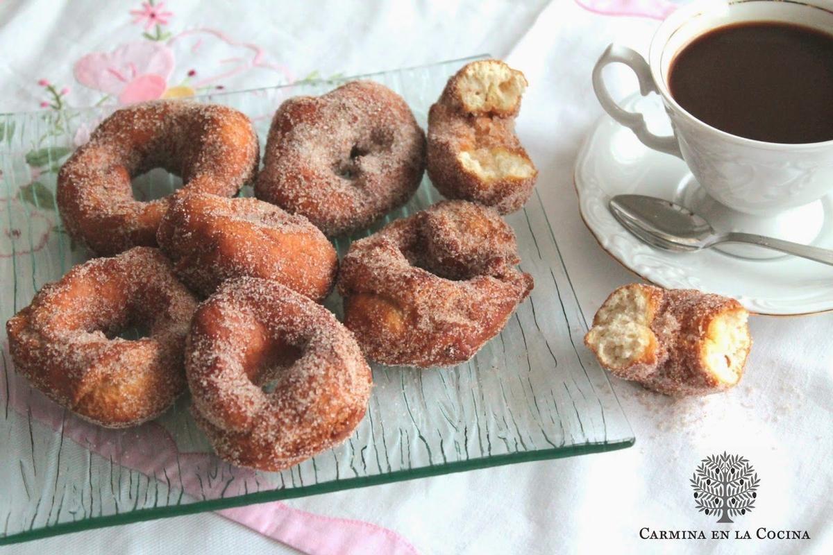 Unas rosquillas o roscos que llevan entre sus ingredientes nata. ¡Tienes que probarlos!