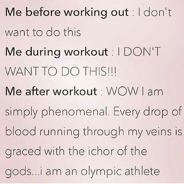 Please don't make me go to the gym