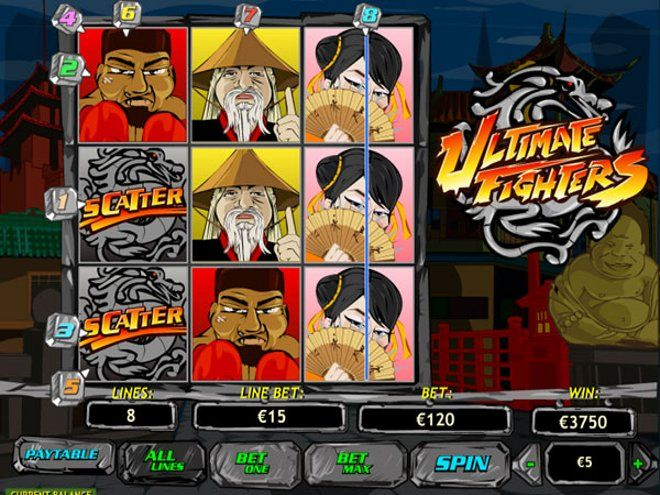 Spiele Ultimate Fighter - Video Slots Online