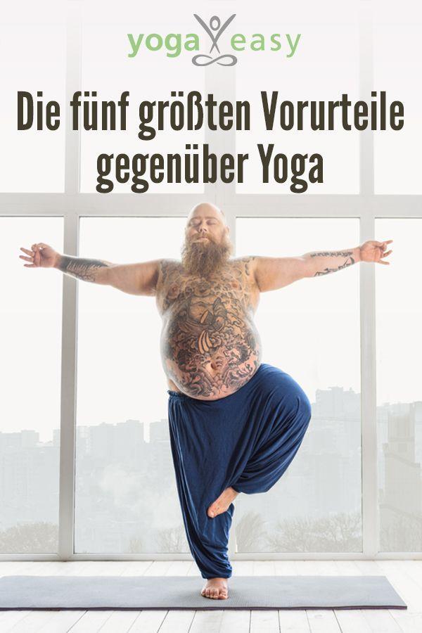 The five biggest prejudices against yoga -  5 typical prejudices against yoga that non-yogis often have  - #against #asana #biggest #Exercise #Meditation #namaste #prejudices #VinyasaYoga #YinYoga #Yoga #YogaFitness #YogaFlow #Yogagirls #YogaLifestyle #Yogaposes #YogaSequences