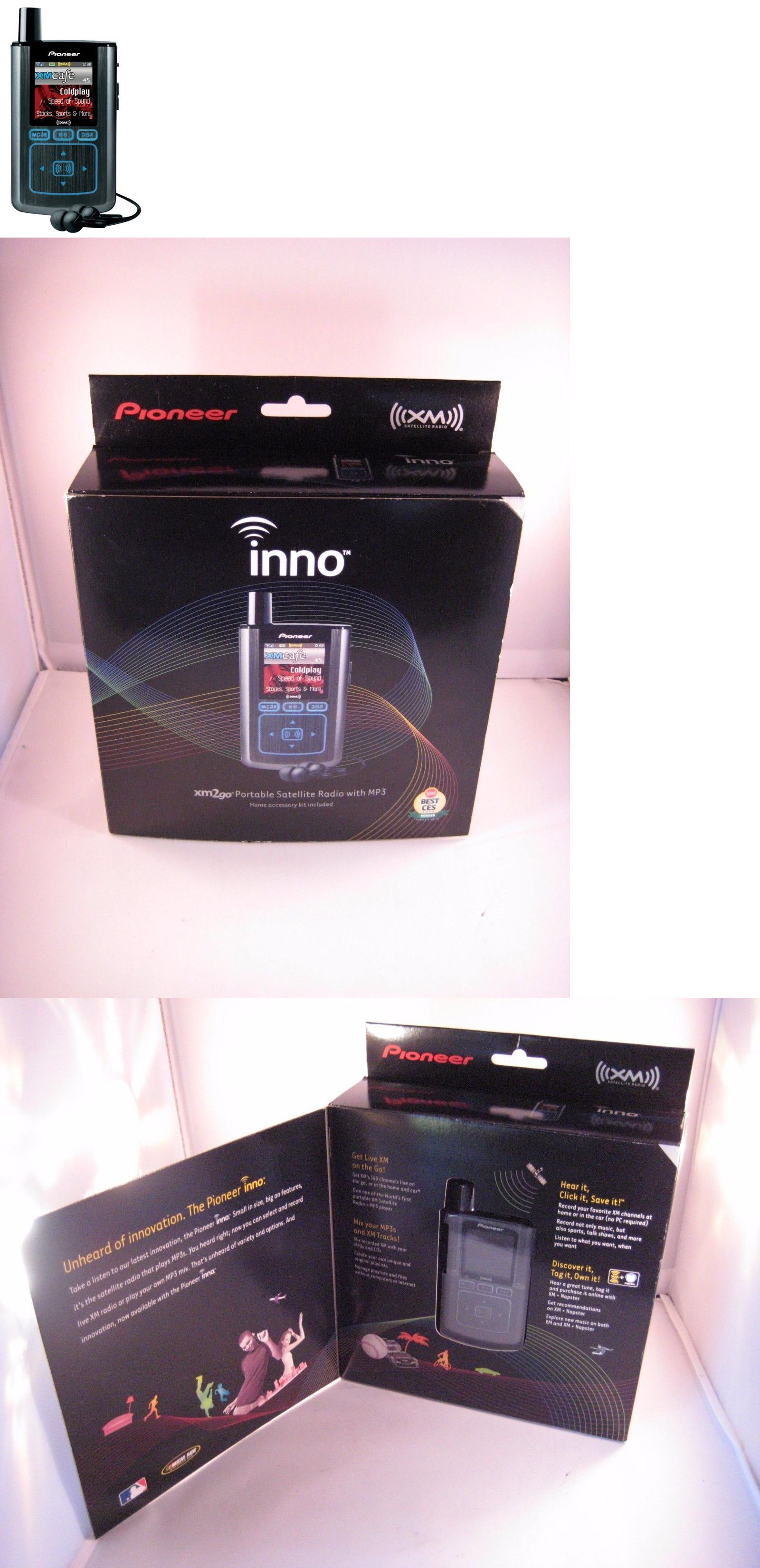 portable satellite radios new pioneer gex inno1 xm2go portable xm