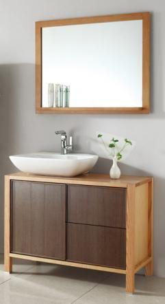 40 Inch Single Sink Bath Vanity In Red Oak And Walnut  Master Classy 40 Inch Bathroom Vanity Review