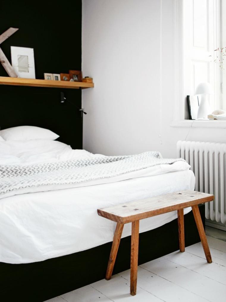 Akzent-Wand-Farben - dunkle Töne für das Schlafzimmer