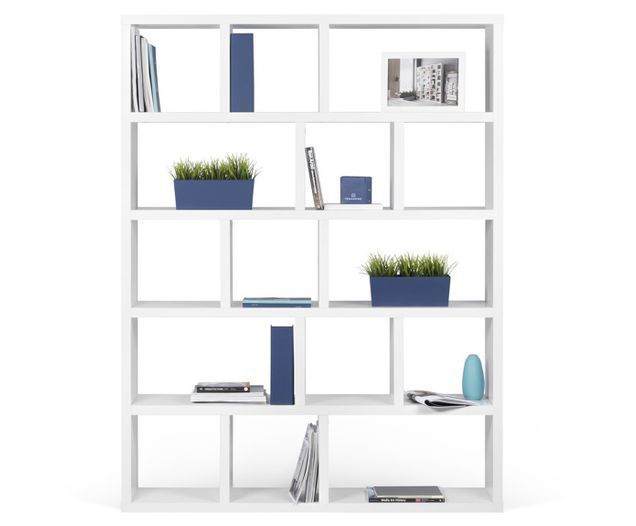 Libreria Portlyn In 2020 Wide Bookcase Bookcase Home Furnishings