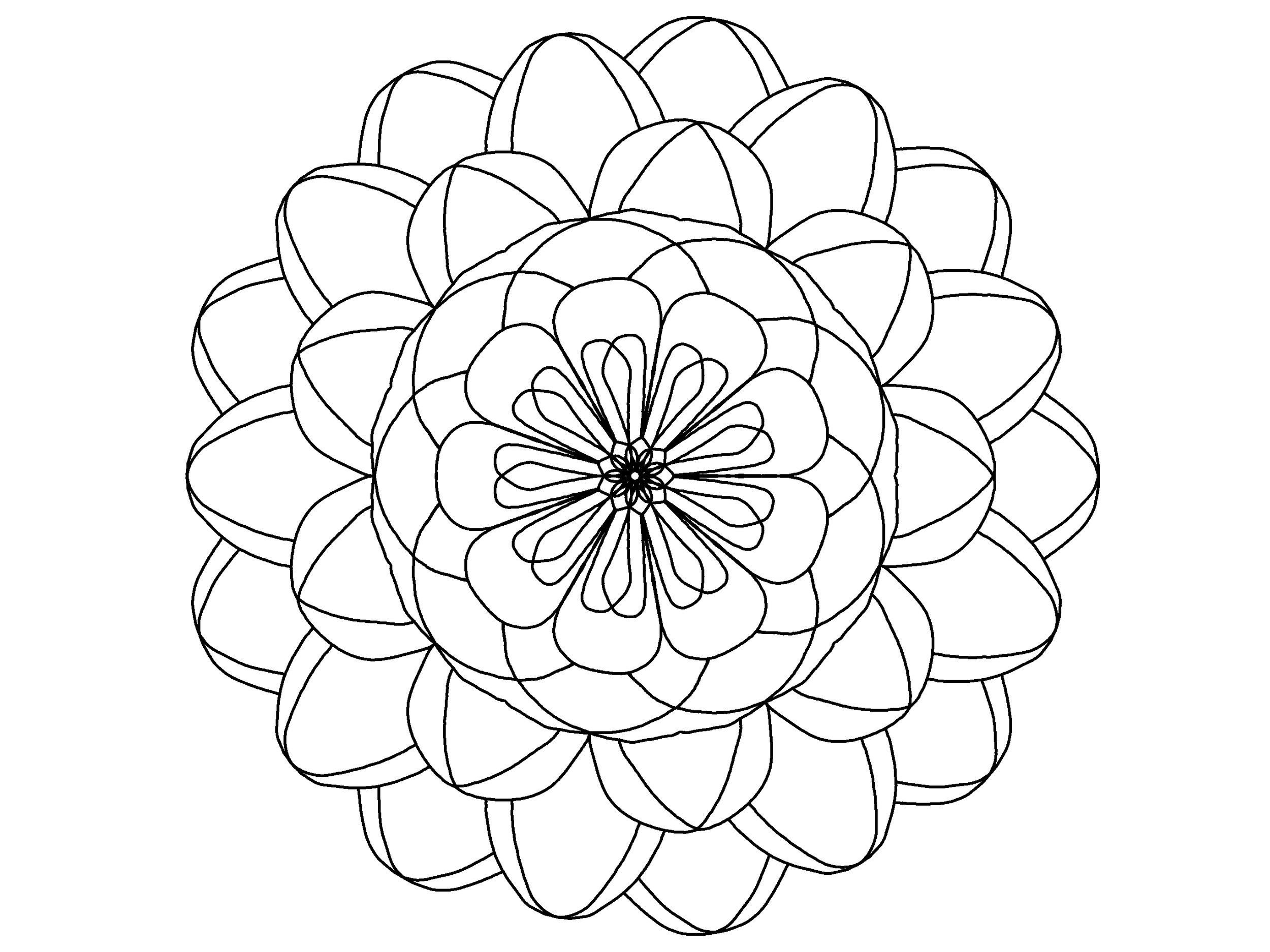 Meditative Coloring Pages | Adult Coloring | the lost | san diego ...