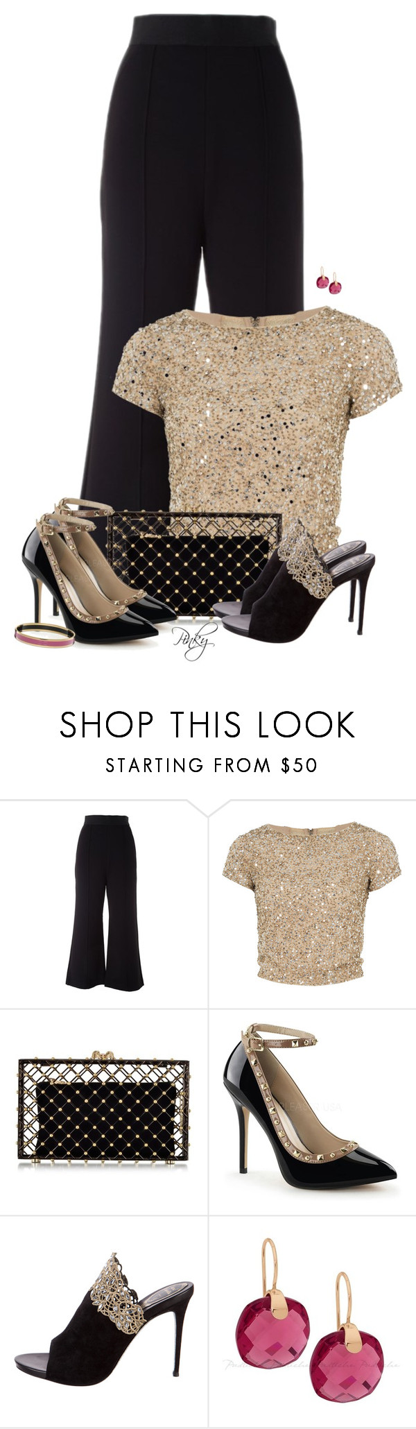 """""""Can't Decide: Which Shoes??"""" by pinkystyle ❤ liked on Polyvore featuring Alice + Olivia, Charlotte Olympia and René Caovilla"""