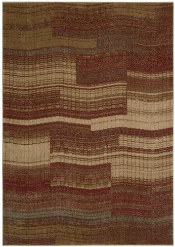 Nourison Zanibar Geometric Flame 2 3 Feet By 8 Feet Polyacrylic Runner Rug By Nourison 101 97 Dry Clean Recommended Densely Woven Nourison Rugs Area Rugs