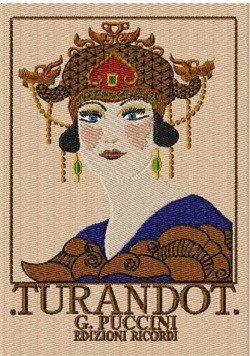 Vintage Poster RMG460:  Turandot Opera by Puccini