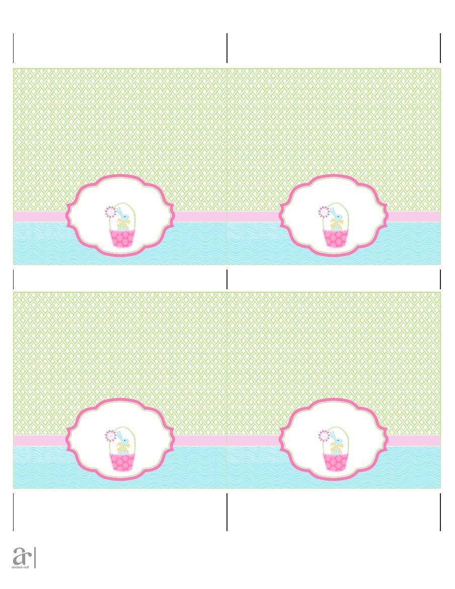 image regarding Bunny Bait Printable named Totally free Easter Bunny Bait Printable Bag Toppers Scribd My