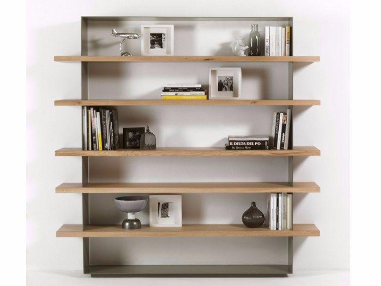 Libreria in legno e ferro CRAZY by Riva 1920 design Maurizio Riva ...