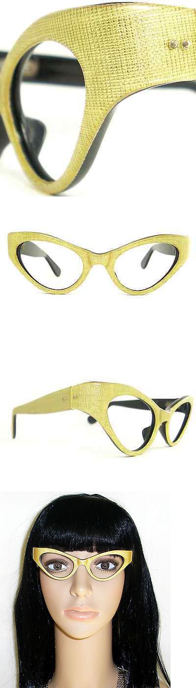 Eyeglasses 175805: Vintage Cat Eye Glasses Eyeglasses Sunglasses Frame France Eyewear Crosshatched -> BUY IT NOW ONLY: $120 on eBay!