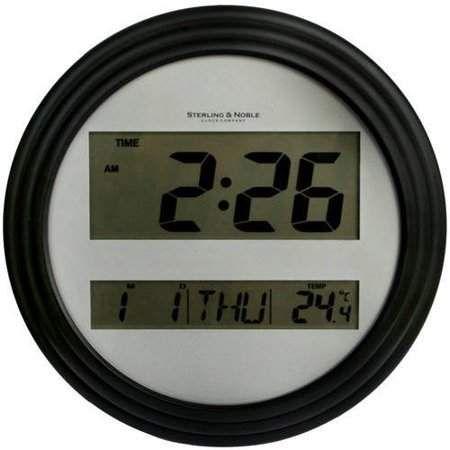 Mainstays Digital Wall Clock Black In 2019 Clock Digital Wall Wall Clock Frame