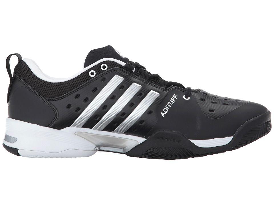 Adidas Barricade Classic Men S Tennis Shoes Black Metallic Silver