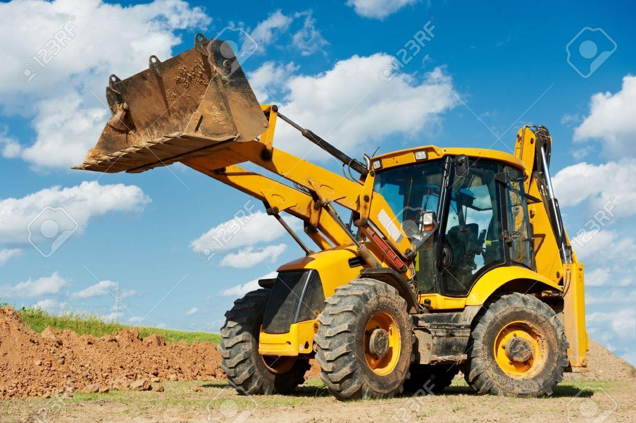 Stock Photo (mit Bildern) | Radlader, Bagger, Baumaschinen