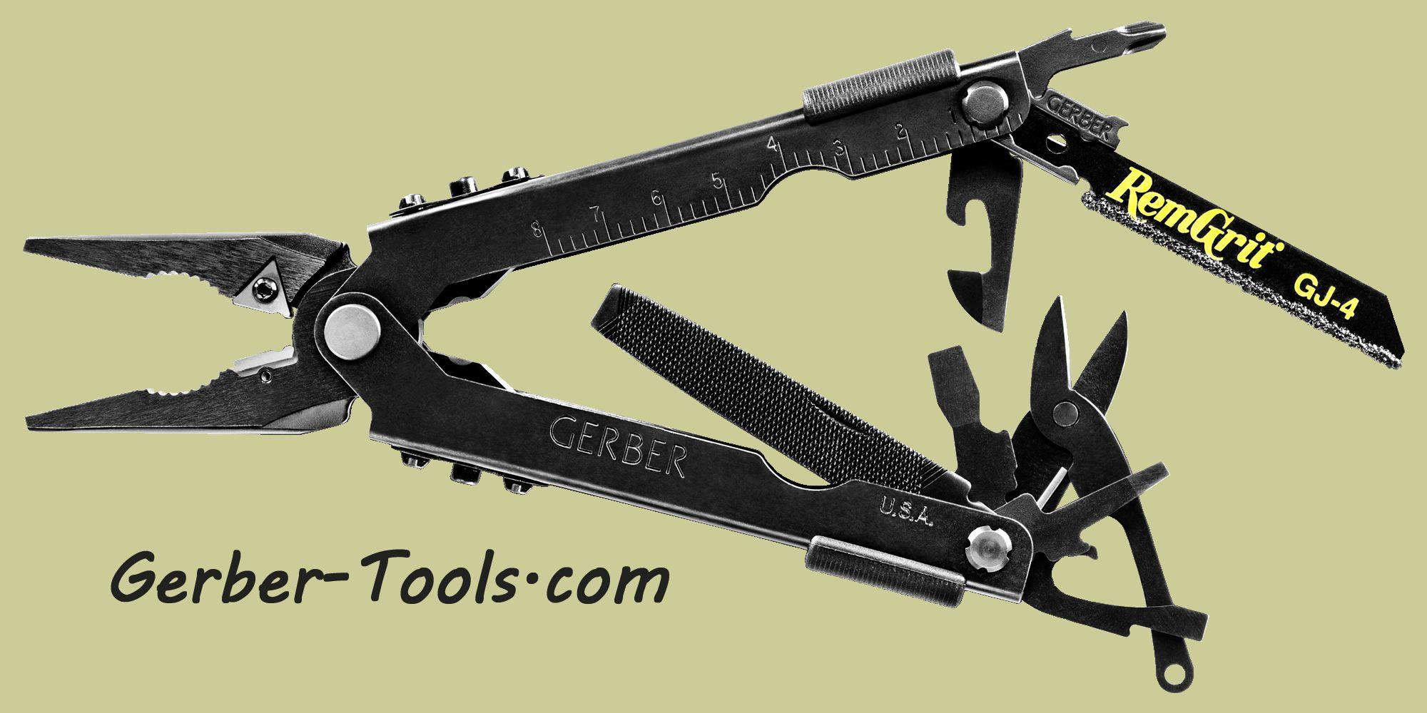 Gerber MP600 Bladeless Multitool Needlenose Black 30-000952