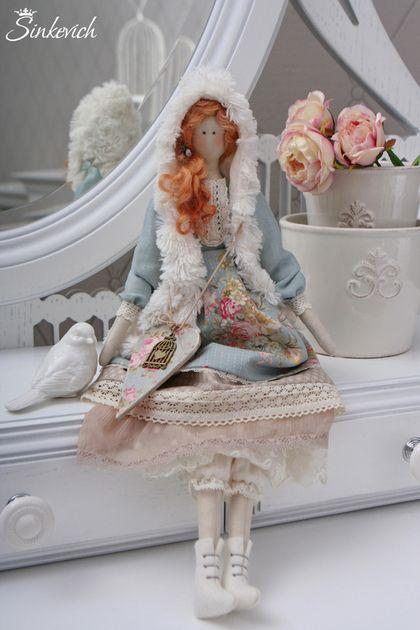 Кукла в стиле Тильда Софи - кукла ручной работы,кукла,кукла в подарок ♡