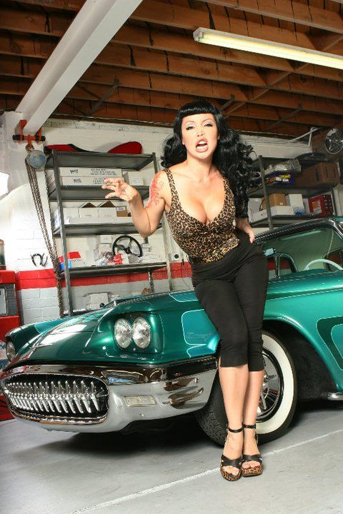 Hot Rod Custom And Classic Car Babes Cool Rides Hot Girls