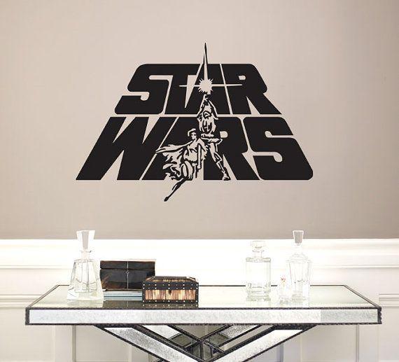 Star Wars Logo Vinyl Wall Art Decal