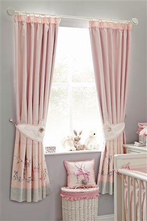 Buy Little Bunnies Bed In A Bag Set From The Next Uk Online Shop Pleated Curtains Girls Princess Bedroom Curtains