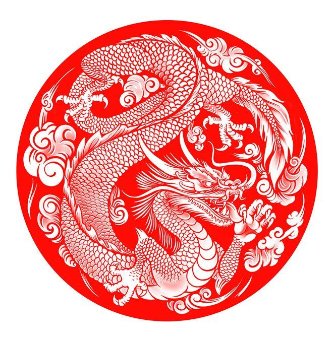 30 Legendary dragon chinois Illustrations et peintures