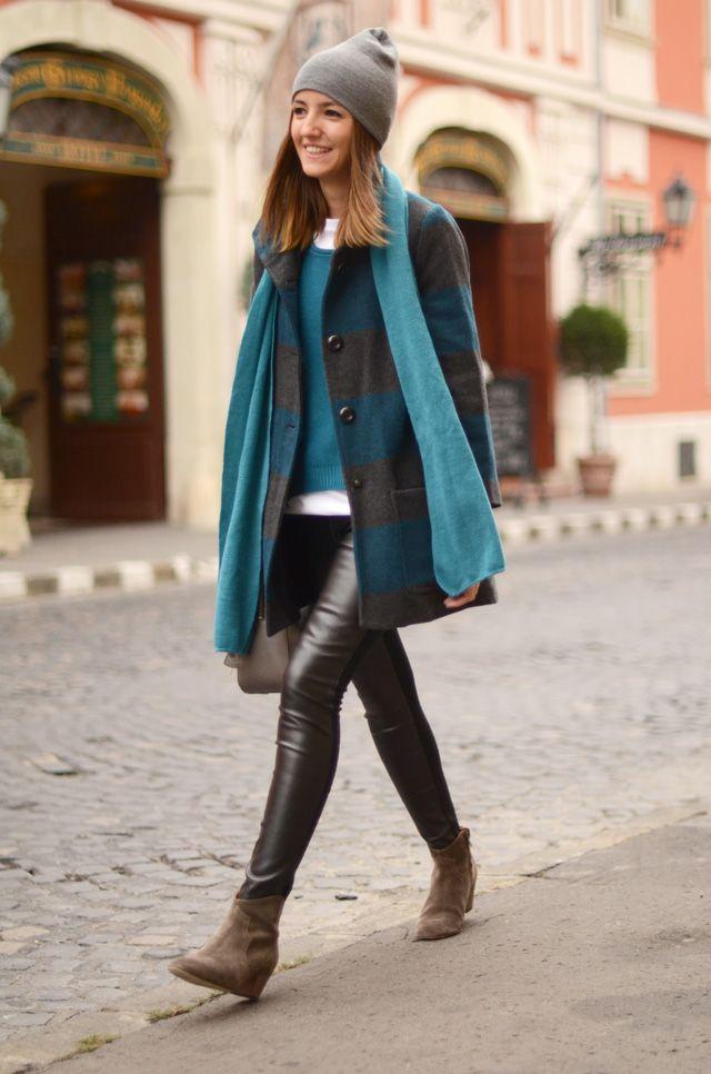 Cinza + azul!