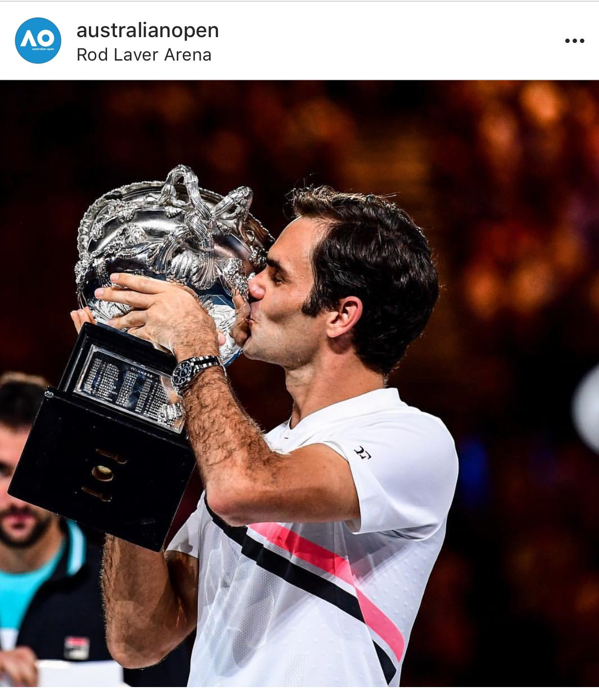 572e59fc8682 Congratulations to the 20th Grand Slam title!!! Amazing!  RogerFederer   rogerfederer
