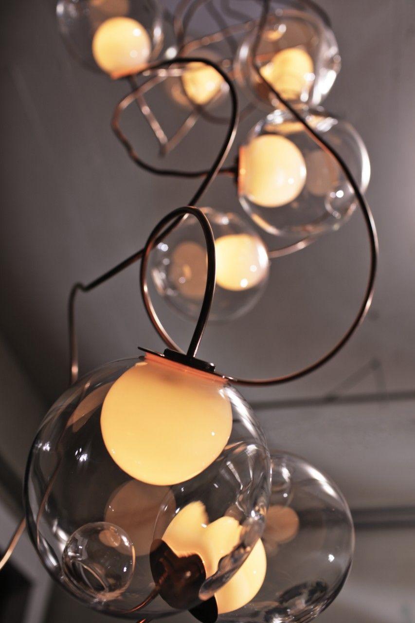 28 copper suspension bocci lighting hundred mile pinterest leuchten und beleuchtung. Black Bedroom Furniture Sets. Home Design Ideas