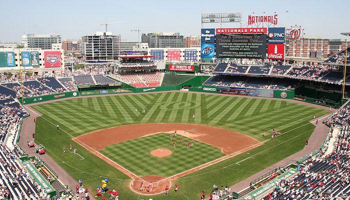 Nationals Park Washington Dc The Washington Nationals Nationals Park National Stadium Baseball Park
