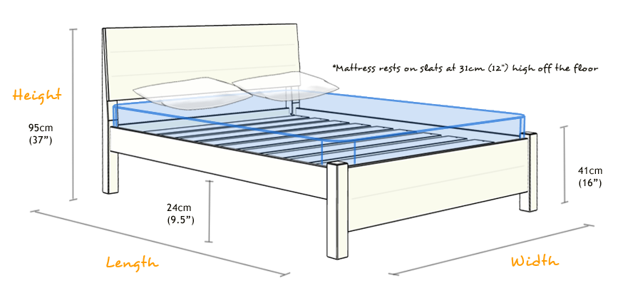 Chelsea Bed Wooden Bed Design Wooden Bed Bed Frame