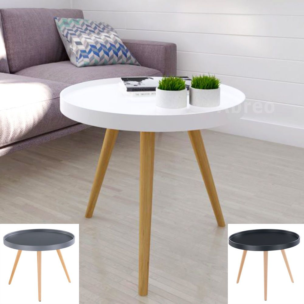 Details about white grey side tables coffee table with