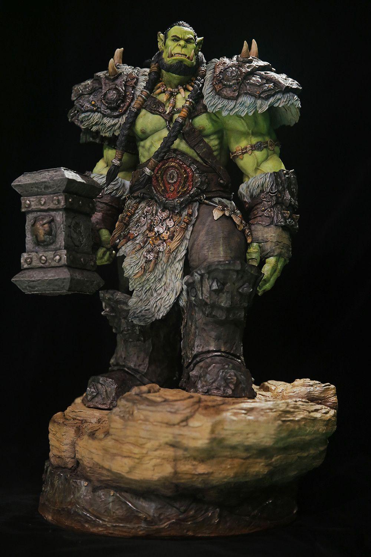 Artstation Thrall Hao Qin Warcraft Art World Of Warcraft