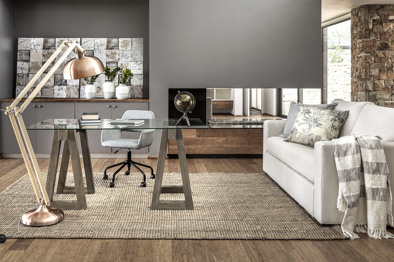 Cooper Trestle Desk Set Stylish Furniture Modern Bedroom Furniture New Living Room [ 2000 x 3000 Pixel ]