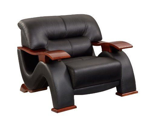 Global Furniture Parker Collection Leather Matching Chair, 2033, Black by Global Furniture USA, http://www.amazon.com/dp/B007G5I1OY/ref=cm_sw_r_pi_dp_.s99rb1T58HCC