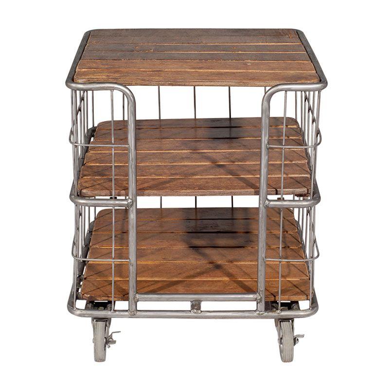 Bakers Rack Lamp Table V Iron Tube V Plywood Bakers Rack