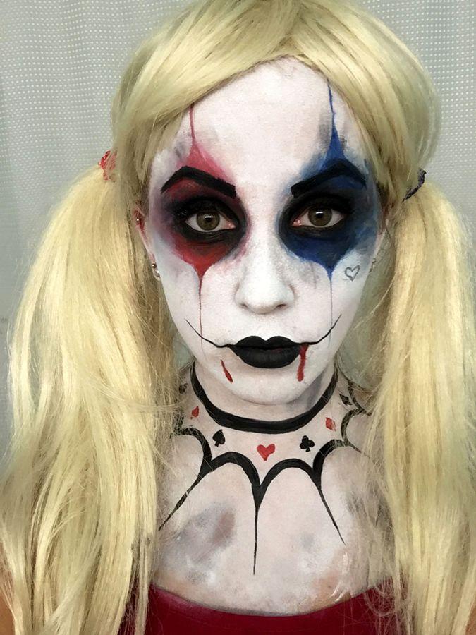 suicide squad face paint - Google Search | Art--Facepainting ...