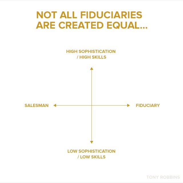 If there is one single step you can take today to solidify your position as insider, it's to align yourself with a fiduciary.
