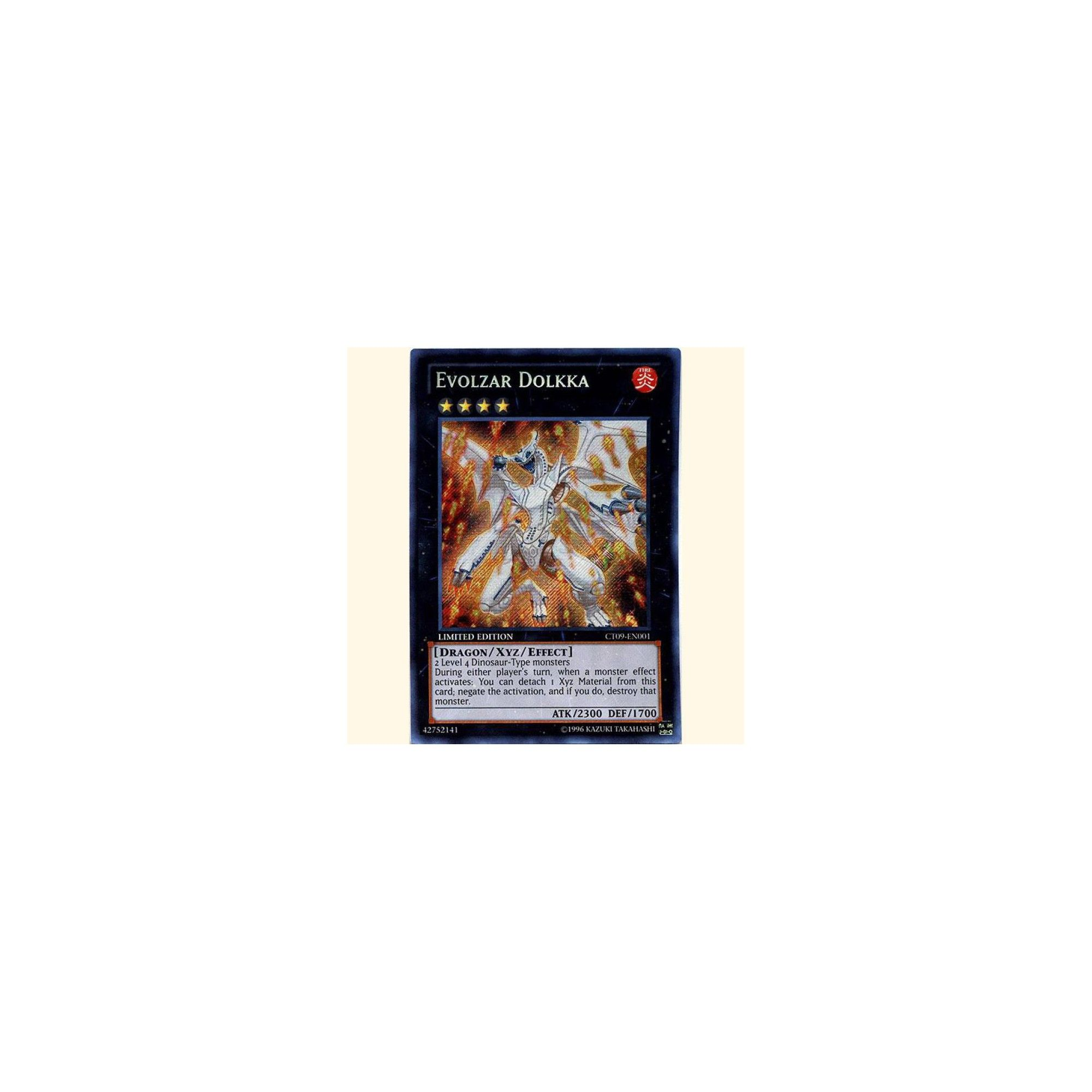 Limited Edition Secret Rare Evolzar Dolkka CT09-EN001